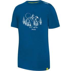 Viking Europe Bamboo Light T-Shirt Uomo, blue